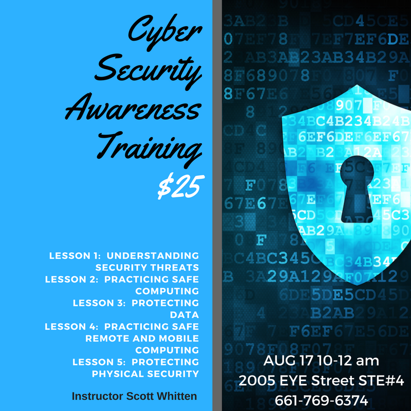 Mesh Cowork Cyber Security Awareness Training Events